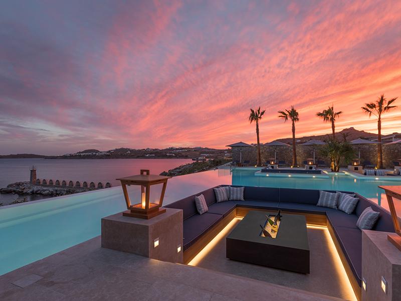 Santa Marina Mykonos Sunset
