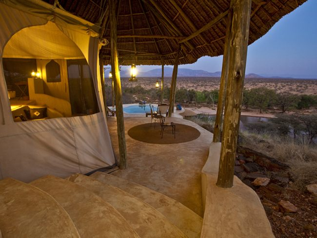 Sasaab Kenya - 25 World-Beating Honeymoon Rooms With A View!