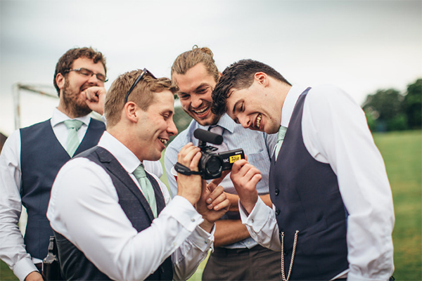 Here's how to get your guests involved as your wedding videographer to get a brilliant wedding video without blowing the budget - check it out!