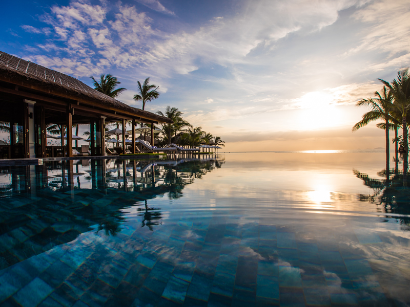 Vietnam Beach Club Pool - 25 World-Beating Honeymoon Rooms With A View!