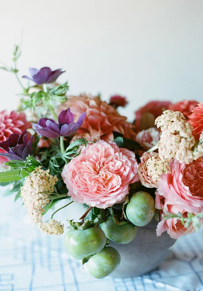 fruit in a bouquet