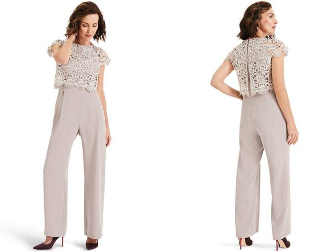 Phase eight Katy lace jumpsuit mother of the bride outfits