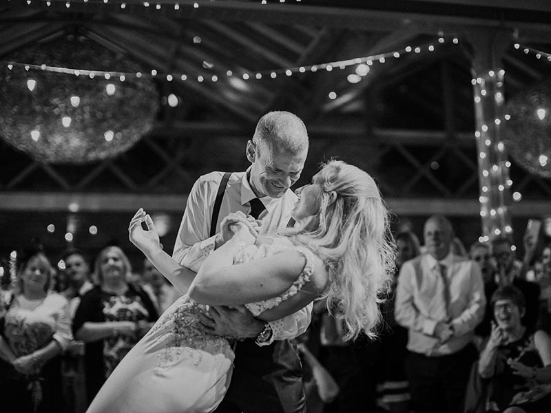 DIY rustic branch and tea light centrepieces, fairy lights galore and four different entertainment acts - you need to see this wow-factor Derbyshire wedding