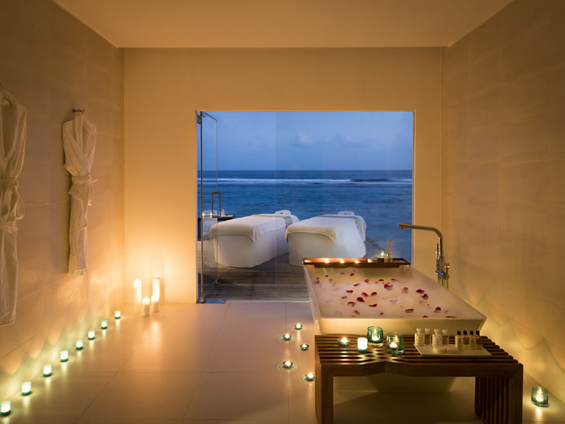 Maldives dirft spa