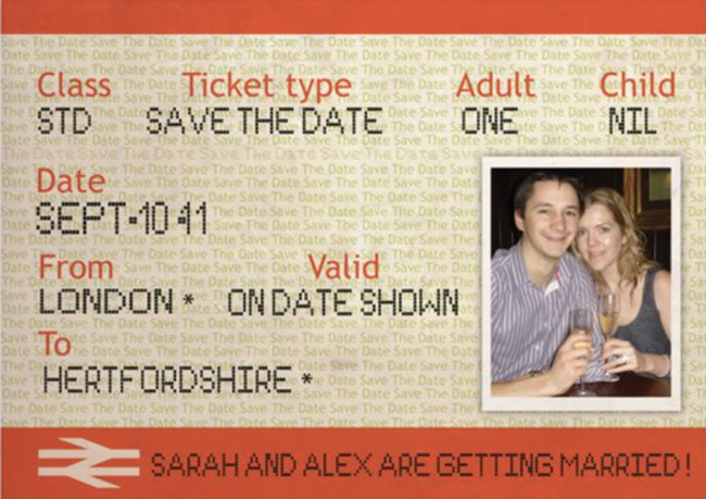 Personalised date reminder - 6 Mistakes of Sending Save the Date Cards