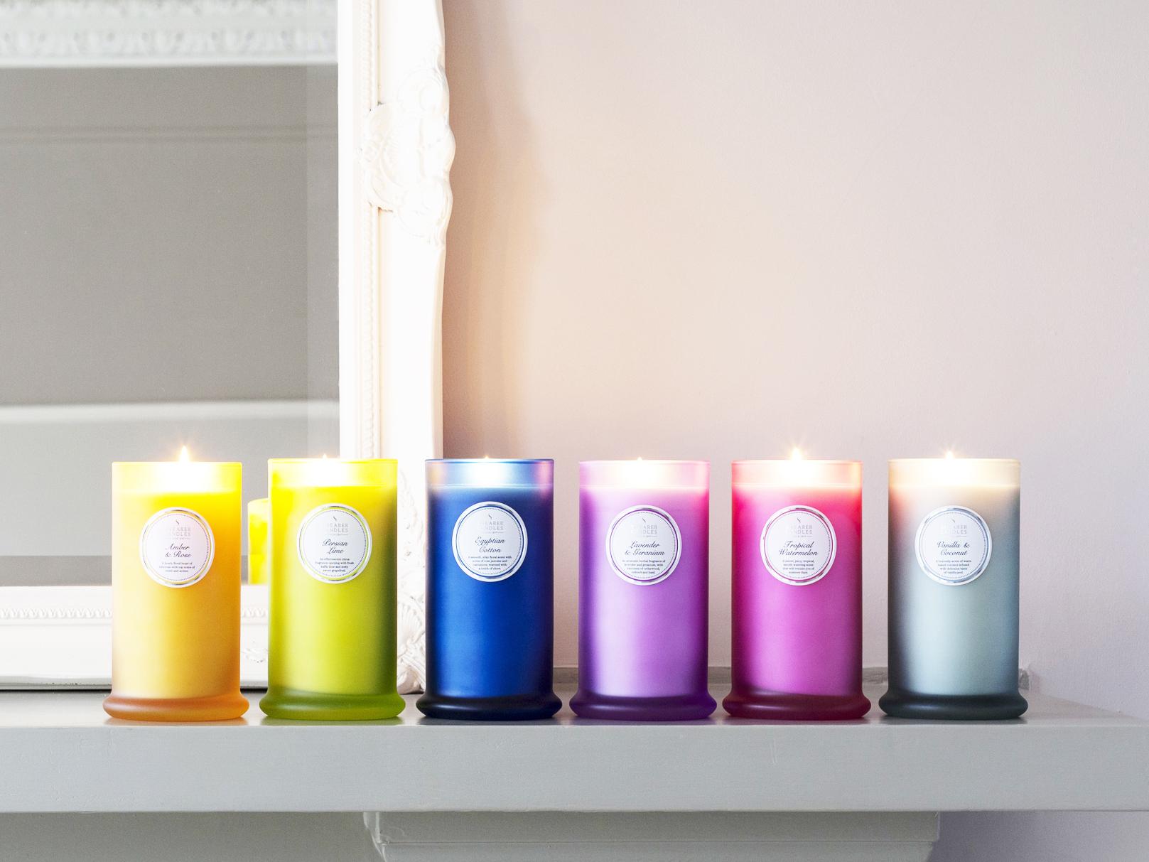 Spring Couture Pillar Jars