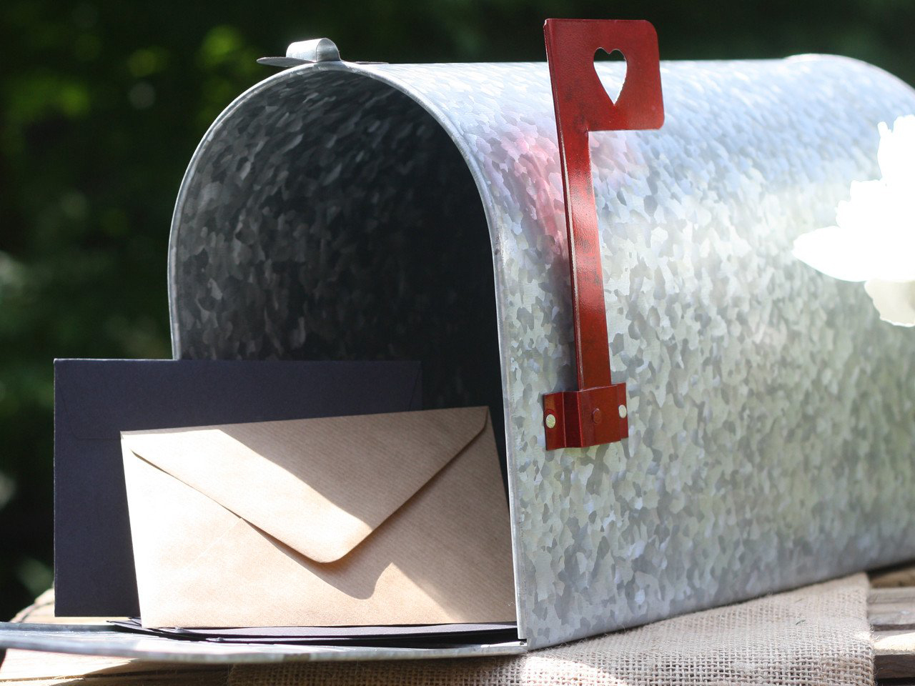 Wedding mail box