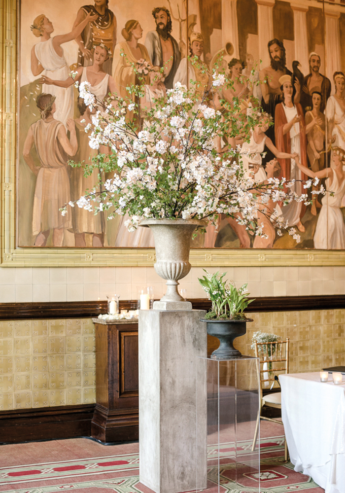 From statement flowers to perspex seating and doughnut walls, we ask the industry experts to share the biggest and best wedding décor trends for 2018