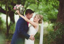 Rachael & Russell had a gorgeous navy and pink country wedding day packed full of homemade details - the perfect inspiration for your DIY dream day!