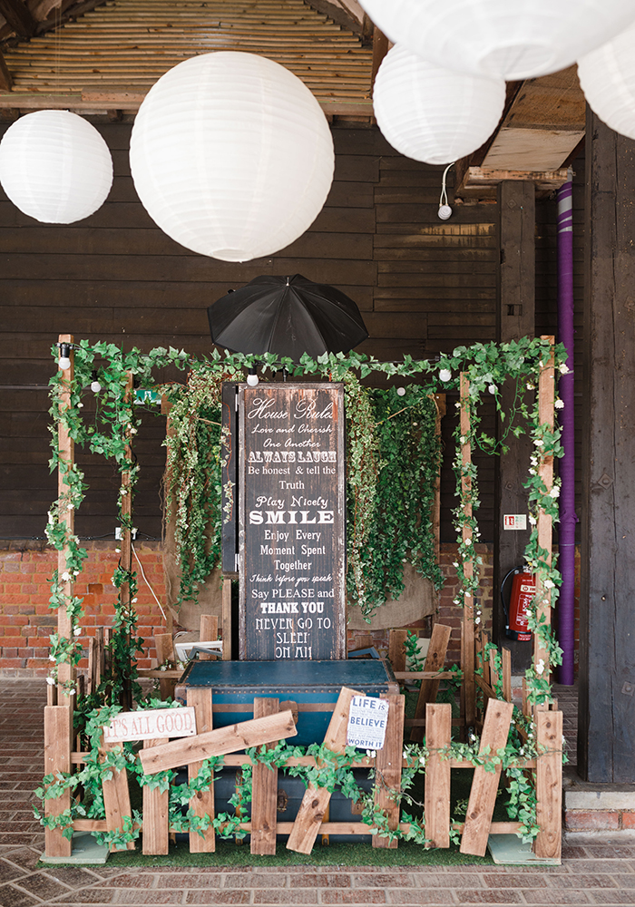 Gorgeous greenery, DIY details and rustic, bohemian touches deck out Ellen and Peter's Berkshire barn wedding beautifully, see all the dreamy photos here...
