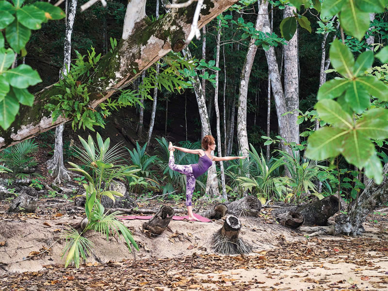 Win Your African Honeymoon To The Island Of Principe Worth £3,300! Praia Forest Yoga
