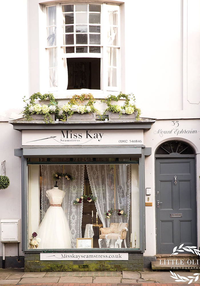 WIN Your Bridal Alterations at Miss Kay Seamstress worth £650!