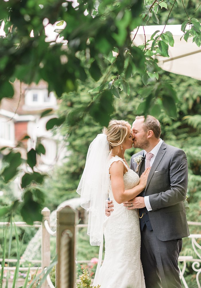 Grown-up grey and pretty pink created the ultimate whimsical pink country wedding for Kate and Lee's Worcestershire barn wedding. Check out the photos...