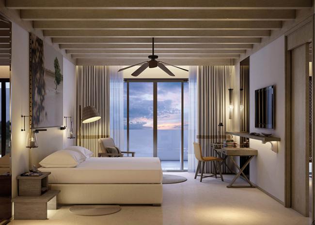 Room at Saadiyat Rotana Resort