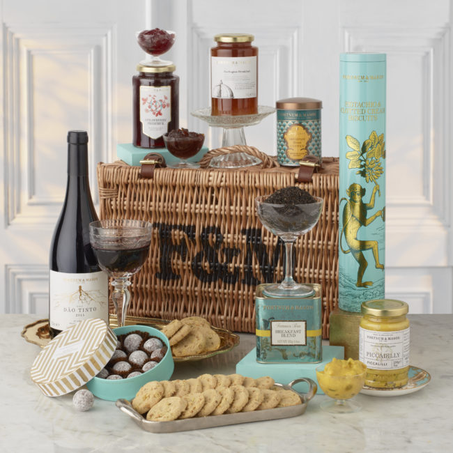 Piccadilly Hamper, Fortnumandmason.com, Top wedding gifts for food lovers