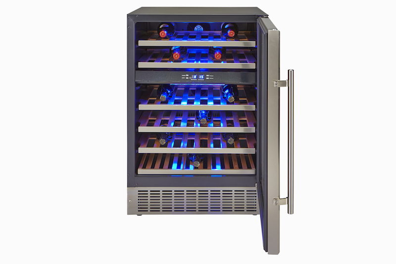Hostess 46 Bottle Built-in Wine Cabinet, wedding gifts for booze lovers