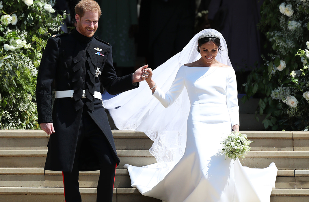 This is how Meghan Markle's wedding dress is influencing British brides