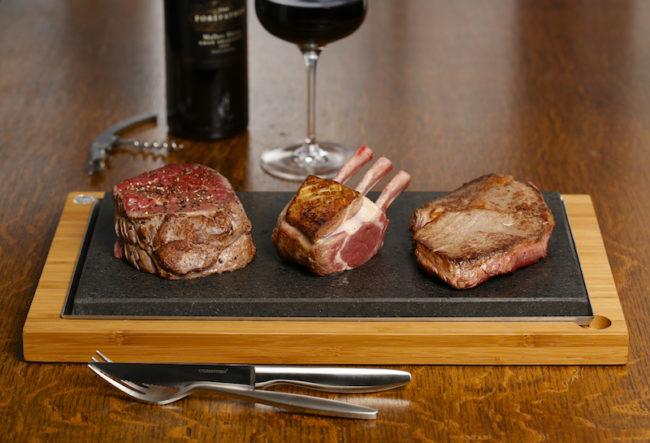 sharing steak plate, notonthehighstreet.com. Wedding gifts for food lovers