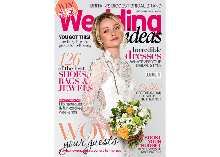 Wedding Ideas magazine September 2018