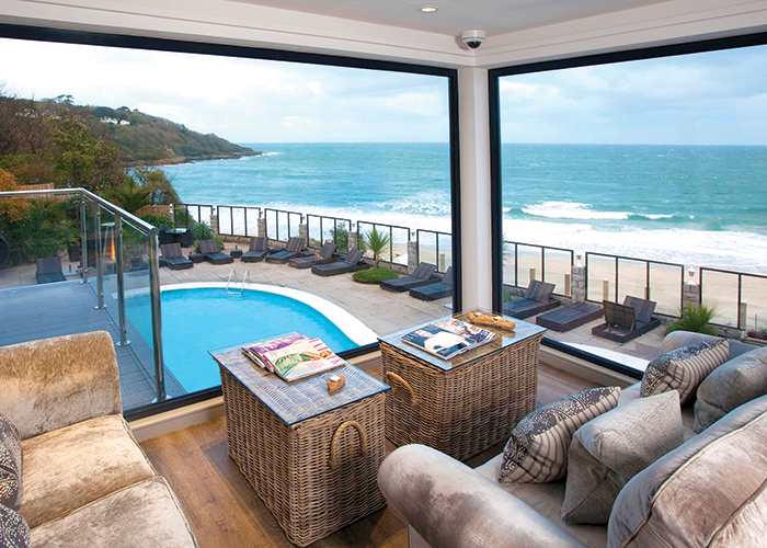 Carbis Bay Hotel in Cornwall