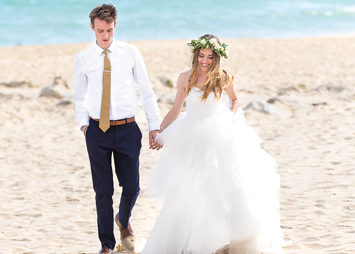 Real weddings: A laidback celebration on the Dorset coast • Wedding ...