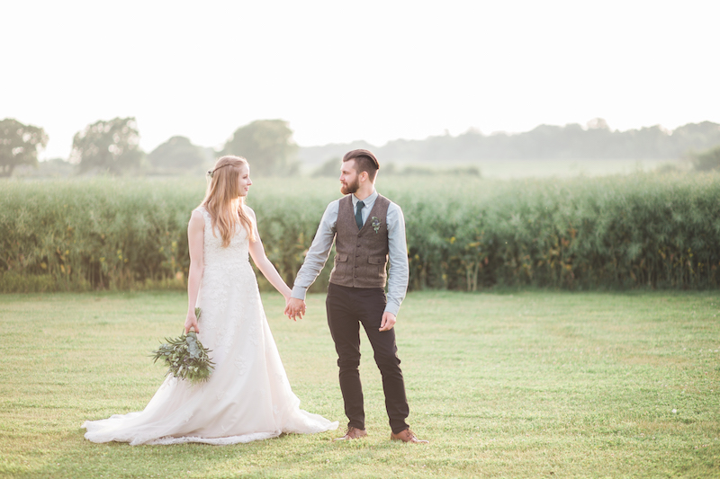 Real Woodland Weddings: Real Weddings: A Romantic Woodland Wedding