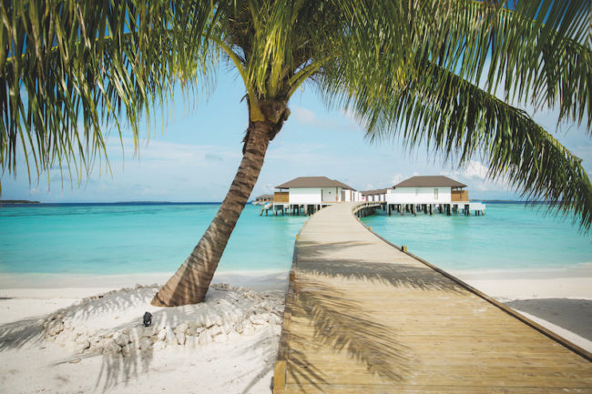 Maldives huts honeymoon ideas