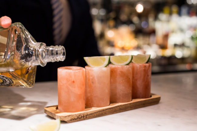 Himalayan salt shot glasses, gifts for booze lovers