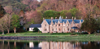 Shieldaig Lodge in the Scottish Highlands