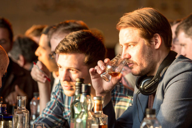 Man drinking whisky - Virgin Experience Days