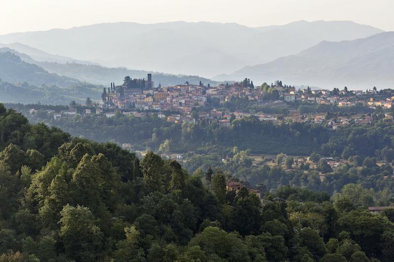 Honeymoon Tuscany view