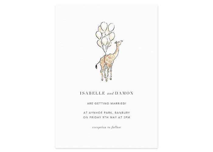 Papier Aynhoe Park wedding stationery