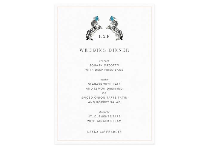 Papier Aynhoe Park wedding stationery