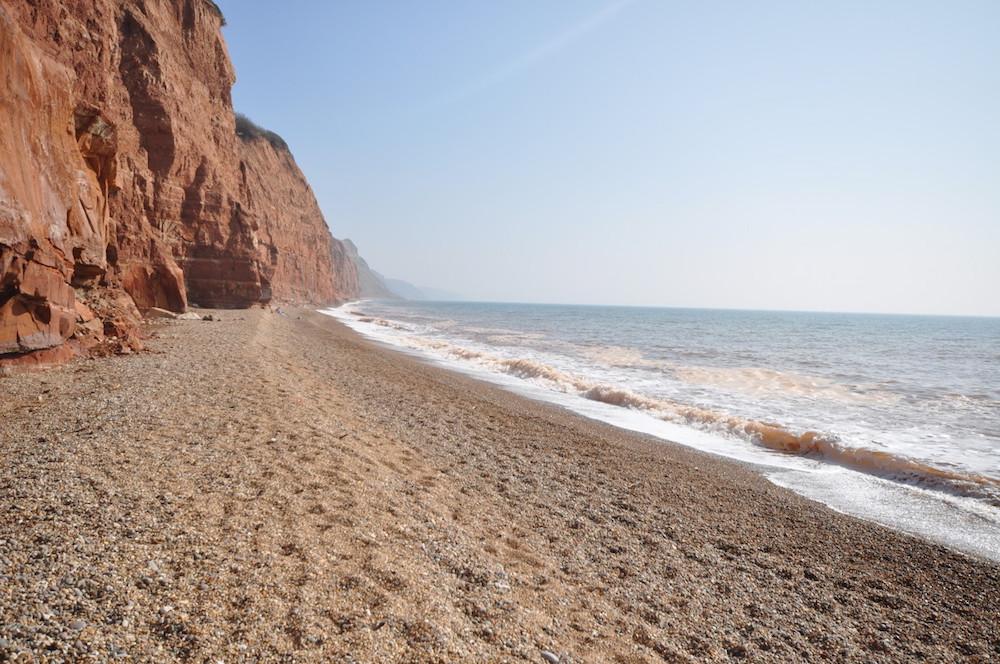Sidmouth coast