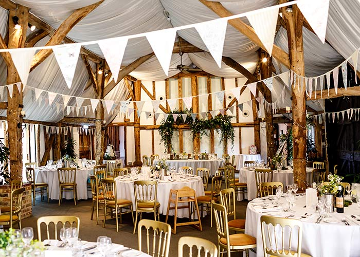 South Farm wedding barn