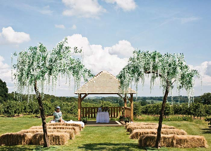The Cherry Barn wedding