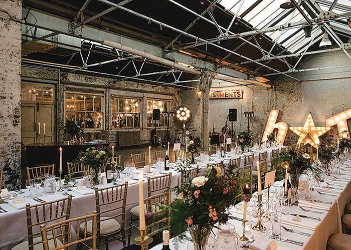 Castle Gibson wedding