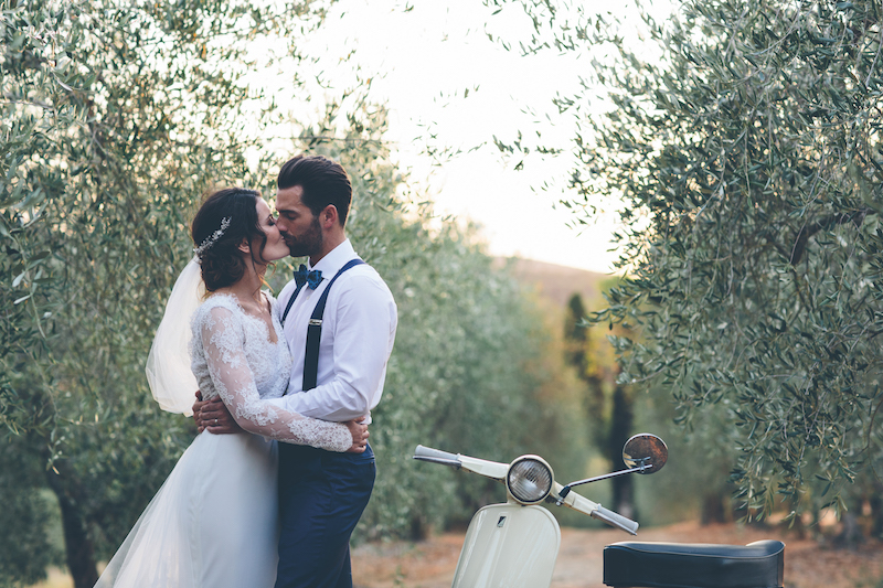 Real Weddings: A Beautiful Celebration In The Italian