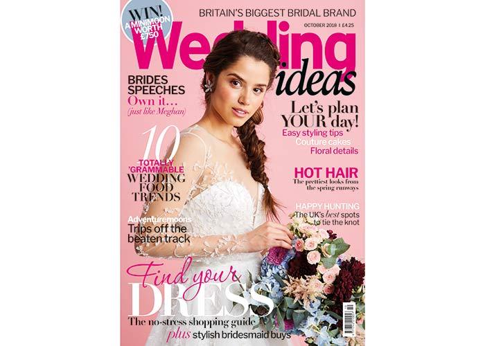 Wedding Ideas magazine October issue