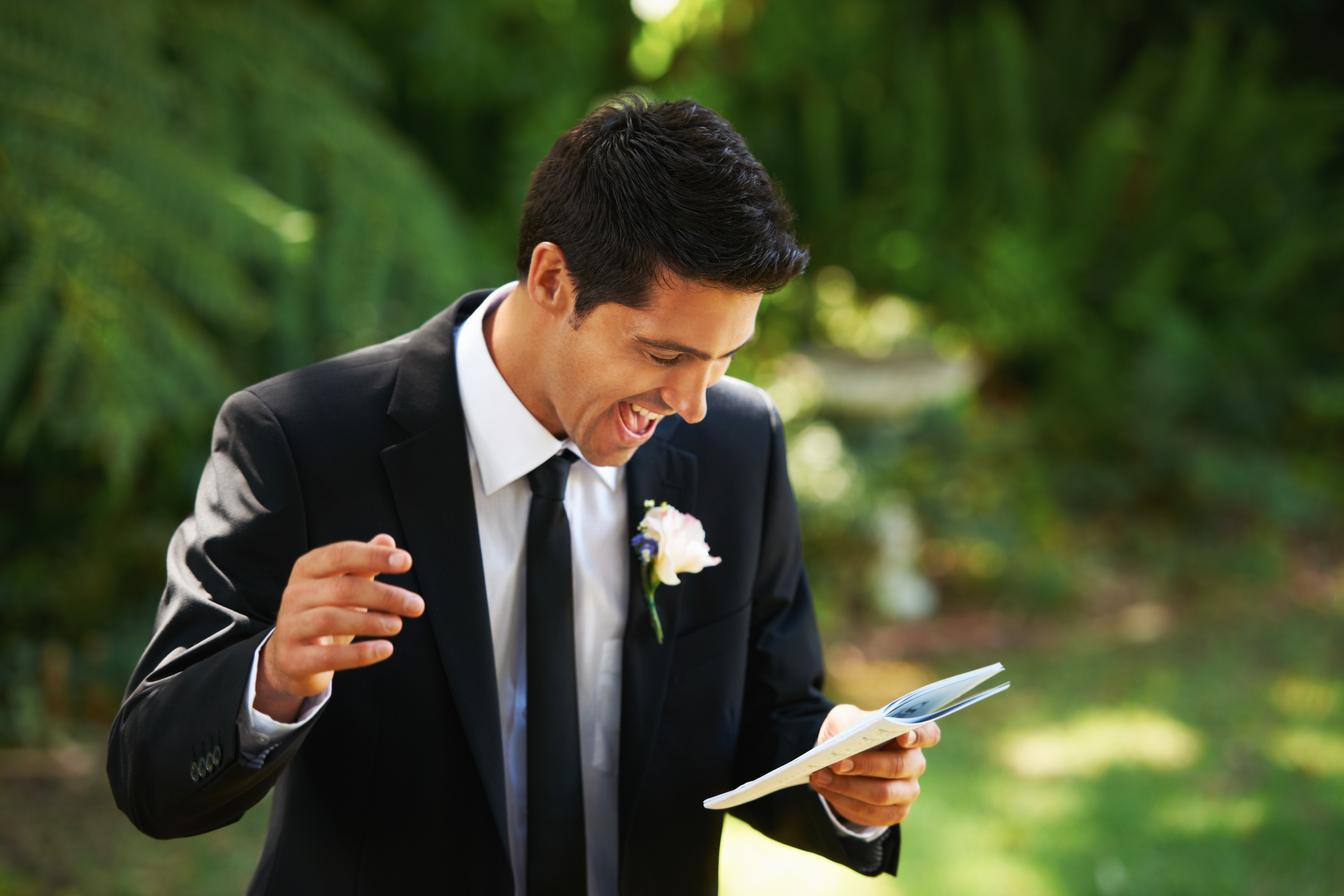 groom=speech