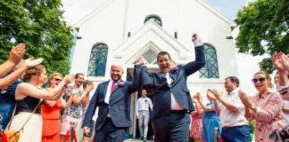 same-sex-wedding-just-married