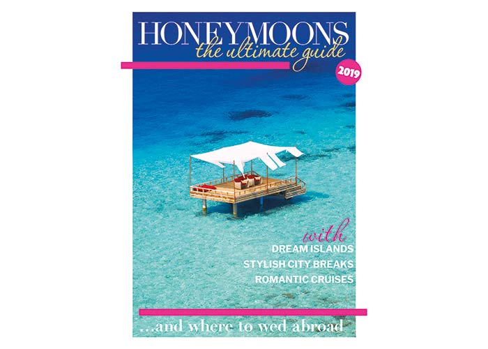 Wedding Ideas magazine honeymoon supplement cover
