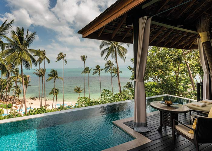 Four Season Koh Samui pool villa