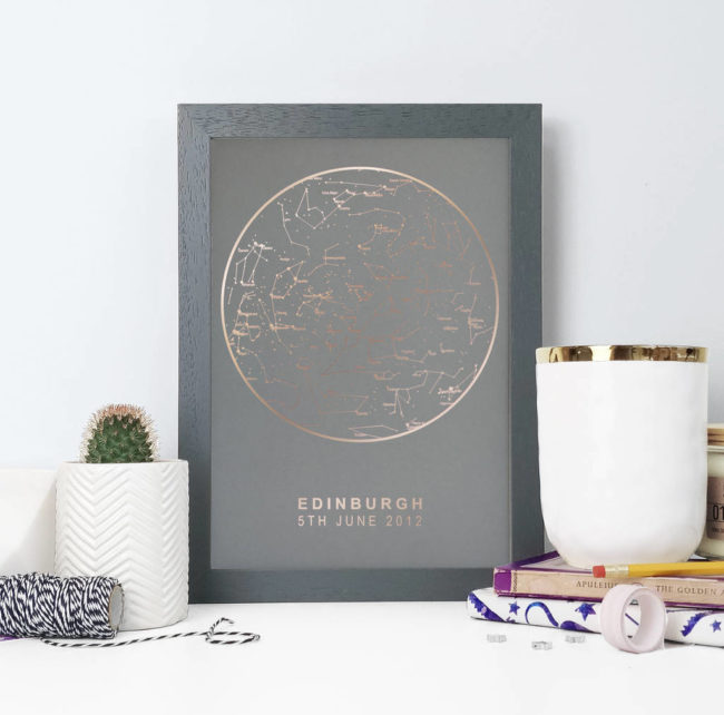 10-grooms-gifts-to-surprise-your-man-with-on-the-wedding-day-personalised-star-map