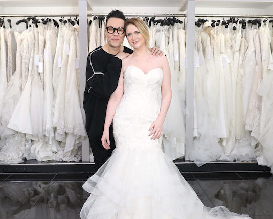 Gok Wan and bride Say Yes to the Dress