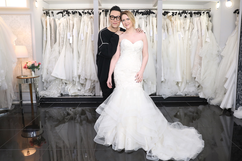 1d858787c9a Gok Wan and Bride Apply for Say Yes to the Dress UK with Gok Wan