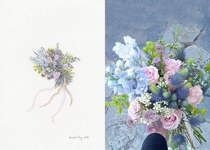 Harriet Parry flowers painting
