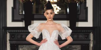 Ines de Santo wedding dress