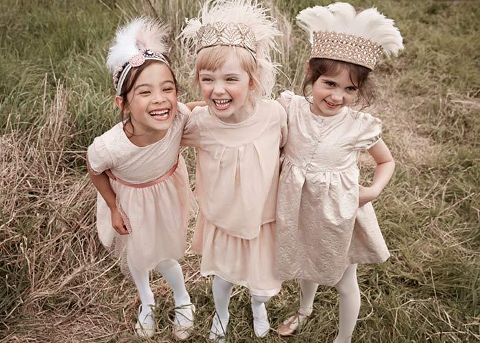 Marie Chantal little girls