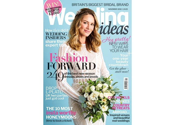 Wedding Ideas November cover